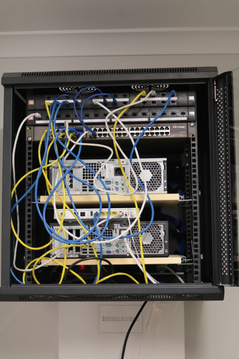 Wiring Up a New House with Ethernet - A Walk-Through - Reckoner | Home Ethernet Wiring |  | Reckoner