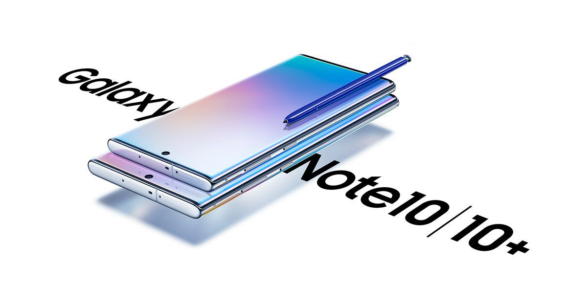 Samsung announce the Galaxy Note10 & Note10+