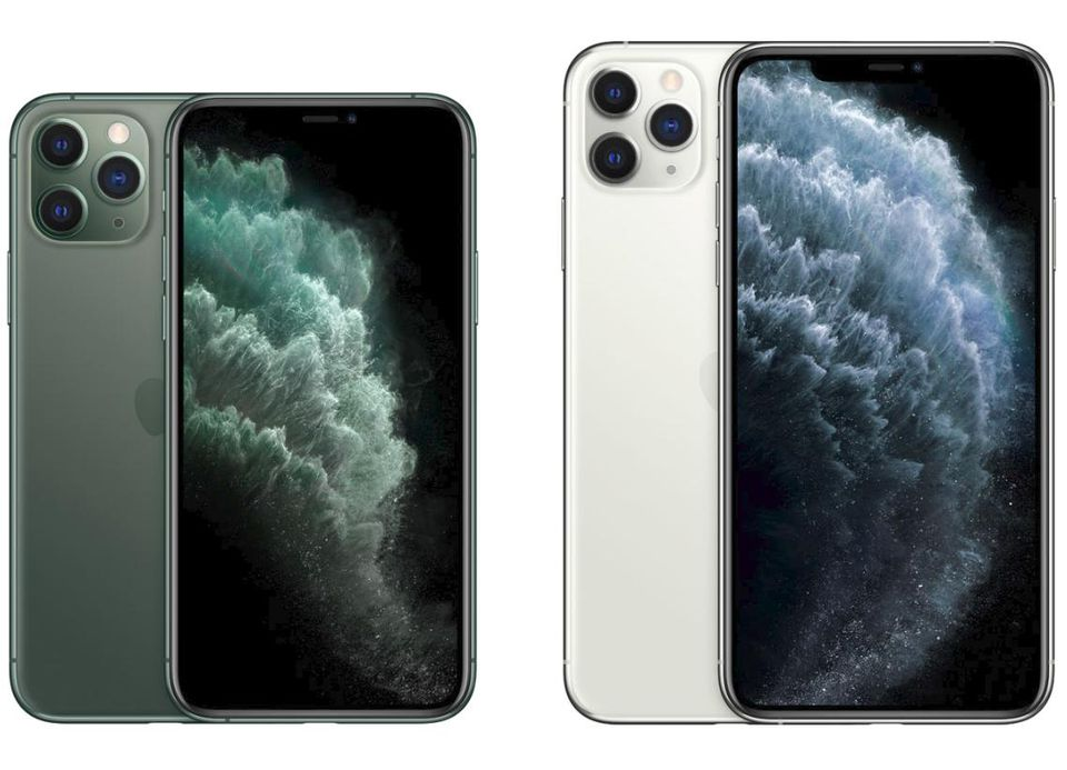 An iPhone 11 Pro & iPhone 11 Max