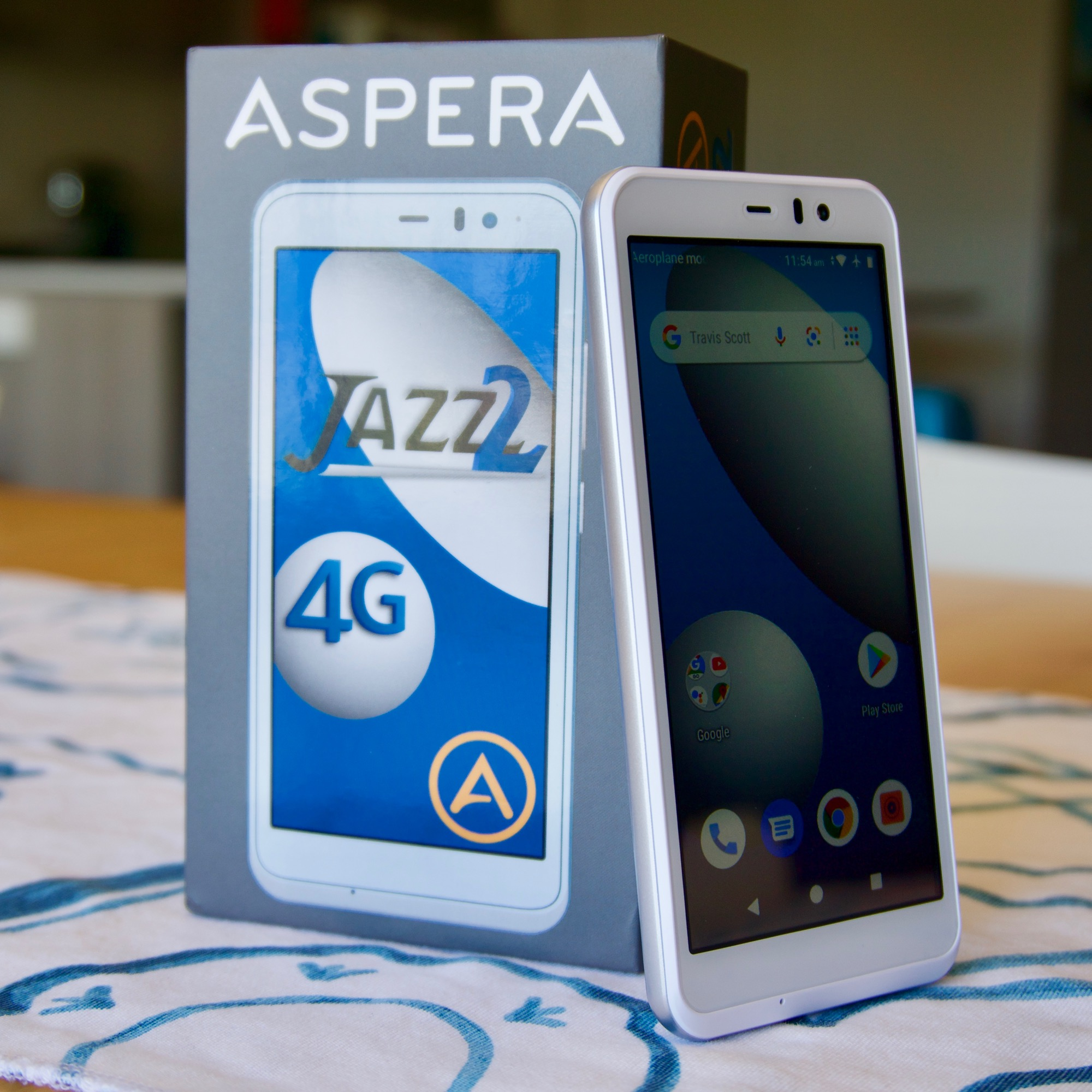 Review: Aspera Jazz 2 smartphone