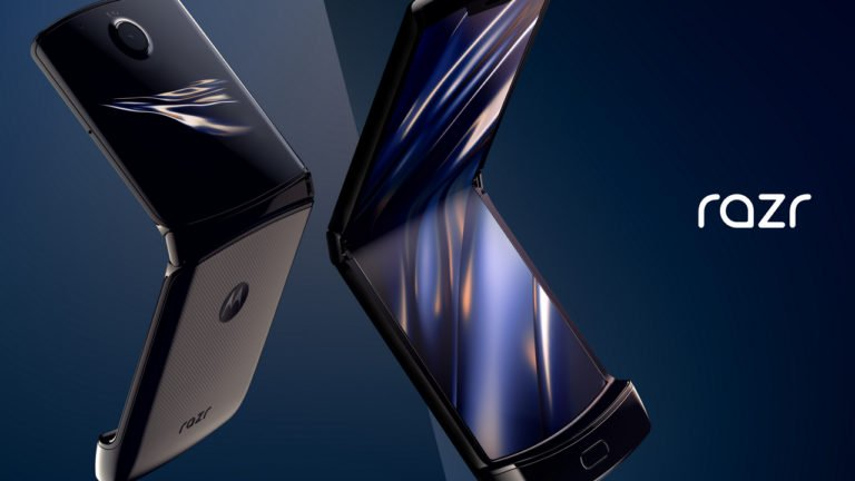 Motorola announce new Razr smartphone with foldable display