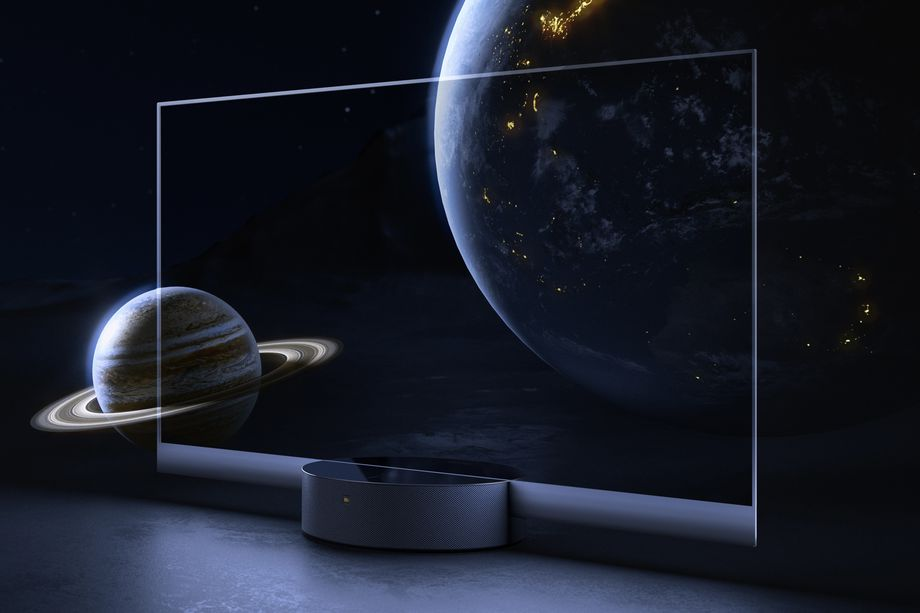 Xiaomi are releasing a transparent OLED TV